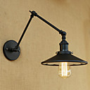 baratos Arandelas de Parede-Rústico / Campestre / Regional / Retro Swing Arm Lights Metal Luz de parede 110-120V / 220-240V 40W