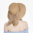 זול סנדלי נשים-כובע קש כובע שמש - אחיד וינטאג' חמוד בגדי ריקוד נשים