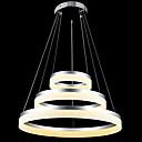 billige Hengelamper-Sirkelformet Lysekroner Nedlys Andre Metall Akryl LED 110-120V / 220-240V Varm Hvit / Kald Hvit Pære Inkludert / Integrert LED