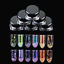 ieftine Decal De Transfer De Apă-6色 Nail Art decorare stras Perle machiaj cosmetice Nail Art Design