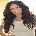 billige Blondeparykker af menneskehår-Remy hår Blonde Front Paryk Bølget 130% Massefylde Natural Hairline / Afro-amerikansk paryk / 100 % håndbundet Dame Kort / Medium / Lang Blondeparykker af menneskehår