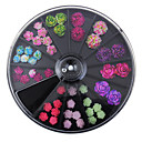 cheap Rhinestone & Decorations-1set Nail Jewelry Flower / Fashion Daily Nail Art Design / Acrylic