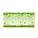 abordables Stickers de Ventana-Floral Moderno Adhesivo para Puerta, PVC/Vinilo Material decoración de la ventana Comedor Sala de niños Baño