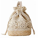 cheap Shoulder Bags-Women's Bags Straw Shoulder Bag for Event / Party / Formal / Outdoor Beige / Brown / Dark Brown