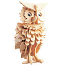 cheap Models & Model Kits-3D Puzzle Jigsaw Puzzle Wooden Puzzle Owl DIY 1pcs Kid's Unisex Gift