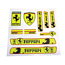 cheap Car Stickers-Auto Sticker Decal Emblem Badge PVC Bumper For Ferrari