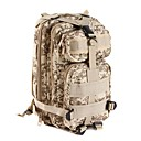 cheap Hunting Protective Gear-25 L Backpack - Waterproof, Wearable, Multifunctional Outdoor Camping / Hiking, Leisure Sports, Traveling Camouflage Brown