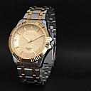 preiswerte Modische Halsketten-CHENXI® Herrn Armbanduhr Armbanduhren für den Alltag Edelstahl Band Charme Schwarz / Zwei jahr / Maxell SR626SW