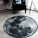 cheap Rugs-Modern Area Rugs Polyester Floral Round