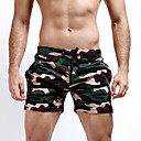 cheap Bracelets-Men's Active Military Street chic Cotton Straight Slim Shorts Pants - Camouflage Classic Fashion Knitting