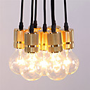 رخيصةأون أضواء قلادة صغيرة الحجم-خمر الصناعية الذهب 7-heads قلادة الخفيفة تصميم غرفة المعيشة الثريات غرفة الطعام