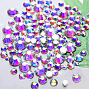billige Rhinsten&Dekorationer-1440 pcs Rhinsten Negle kunst Manicure Pedicure Daglig glitter / Mode / Akryl
