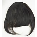 billige Hårstykker-Eurasian menneskelige hår bangs tykke pung til kvinder