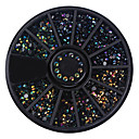 cheap Rhinestone & Decorations-1 pcs Rhinestones Glitters / Neon & Bright / Fashion Daily Nail Art Design / Acrylic / Metal