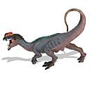 baratos Figuras de dinossauro-Dragões & Dinossauros Brinquedos de Montar Figura do dinossauro Triceratops Dinossauro jurássico Dinossauro Tamanho Grande Plástico Crianças Para Meninos Para Meninas Brinquedos Dom