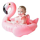 cheap Inflatable Ride-ons & Pool Floats-Flamingo Inflatable Pool Float Donut Pool Float PVC Kids