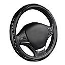 voordelige Stuurhoezen-Autoyouth auto stuurwiel deksel sportief golf patroon met rode lijnsteken m maat past bij 38cm / 15 diameter auto accessoires