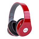 baratos Tela-Sobre o ouvido Sem Fio Fones Plástico Celular Fone de ouvido HI FI / Com controle de volume / Isolamento de ruído Fone de ouvido