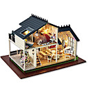cheap Doll Houses-Dollhouse / Model Building Kit DIY House Wooden Pieces Men's / Unisex Gift