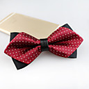 cheap Backpacks-Men's Party / Work / Basic Polyester Bow Tie - Jacquard / Cute