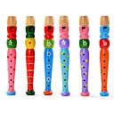 baratos Instrumentos de Brinquedo-Brinquedo Educativo Forma Cilindrica Madeira Instrumento Musical de Brinquedo Crianças Unisexo Dom