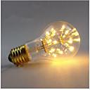 baratos Lâmpadas Filamento de LED-1pç 3 W 200-300 lm E26 / E27 Lâmpadas de Filamento de LED A60(A19) 30 Contas LED SMD Decorativa / Estrelado Branco Quente 85-265 V / 1 pç / RoHs