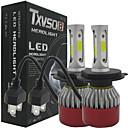 baratos Faróis para Carros-H4 Carro Lâmpadas COB LED Lâmpada de Farol / Luz Anti Neblina