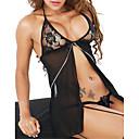 povoljno Podvezice-Žene Sexy Babydoll / slip haljina / Ultra seksi Noćno rublje Voiles & Sheers