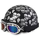 baratos Capacetes e Máscaras-Meio Capacete capacetes para motociclistas