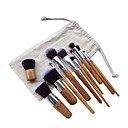 cheap Makeup Brush Sets-11pcs Makeup Brushes Professional Synthetic Hair Portable / Full Coverage Wood