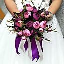 رخيصةأون أزهار الزفاف-زهور الزفاف مستدير الورود باقات حفلة/سهرة ساتين