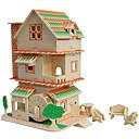 povoljno 3D puzzle-3D puzzle Zabava Drvo Klasik Dječji Uniseks Igračke za kućne ljubimce Poklon
