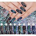 billiga Ögonskuggor-1 / låda Akrylpuder 8 färger nagel konst manikyr Pedikyr Klassisk Dagligen