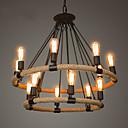 ieftine Becuri LED-Lumânare stil Candelabre Lumini Ambientale - Stil lumânare, 110-120V / 220-240V Becul nu este inclus / 20-30㎡ / E26 / E27