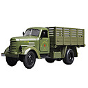 cheap Toy Trucks & Construction Vehicles-Military Vehicle Military Transport Truck Toy Truck Construction Vehicle Toy Car Model Car 1:64 Music & Light Metalic Plastic 5pcs Unisex