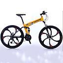 preiswerte Fahrräder-Geländerad / Falträder Radsport 27 Geschwindigkeit 26 Zoll / 700CC Shimano Doppelte Scheibenbremsen Federgabel Faltbar gewöhnlich Aluminium