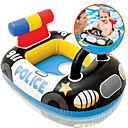 baratos Brinquedo de Praia-Policial Boias de piscina infláveis Boias de Piscina Anéis de natação Plástico Crianças Para Meninos Para Meninas Brinquedos Dom