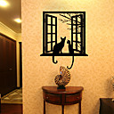 cheap Wall Stickers-Animals Leisure Holiday Wall Stickers 3D Wall Stickers Decorative Wall Stickers 3D, Paper Home Decoration Wall Decal Wall Window