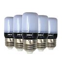 cheap Practical Favors-HKV 5pcs 3W 200-300lm E14 E26 / E27 LED Corn Lights 20 LED Beads SMD 5736 Warm White Cold White 220-240V