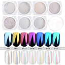 abordables Purpurina para Manicura-1pc 1 Pieza Glitter Powder Destello Nail Art Design