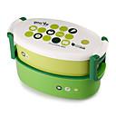 abordables Utensilios de cocina-1pc Fiambreras Plástico Fácil de Usar Organización de cocina