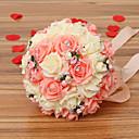 cheap Artificial Flower-Artificial Flowers 1 Branch Wedding Flowers Roses Tabletop Flower