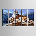 baratos Impressões-Estampado Laminado Impressão De Canvas - Animais Modern