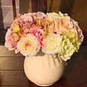 baratos Flor artificiali-Flores artificiais 1 Ramo buquês de Noiva Plantas Flor de Mesa