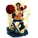 preiswerte Zeichentrick Action-Figuren-Anime Action-Figuren Inspiriert von One Piece Monkey D. Luffy PVC 19 cm CM Modell Spielzeug Puppe Spielzeug