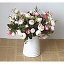 billige Kunstig Blomst-Kunstige blomster 1 Gren Europeisk Stil Gardenia Bordblomst