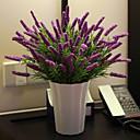 baratos Flor artificiali-Flores artificiais 1 Ramo Pastoril Estilo Plantas Flor de Mesa