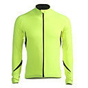 cheap Smartphone Camera Lenses-Jaggad Men's Long Sleeve Cycling Jersey Cycling Jacket Solid Color Bike Jacket Jersey Top, Windproof Breathable Thermal / Warm, Winter, Polyester Spandex Fleece / Fleece Lining