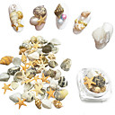 cheap Rhinestone & Decorations-15 pcs Nail Jewelry nail art Manicure Pedicure Daily Fashion