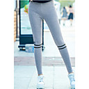 baratos Anéis-Mulheres Esportes Cor Única Legging - Sólido / Multi-Côr Alto / Tanga & Fio Dental / Look Esportivo